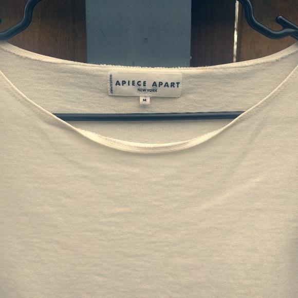 Apiece Apart Tops - Apiece Apart Boatneck Shirt